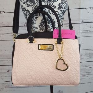 NWT Betsey Johnson 3 Entry Bag in Bag